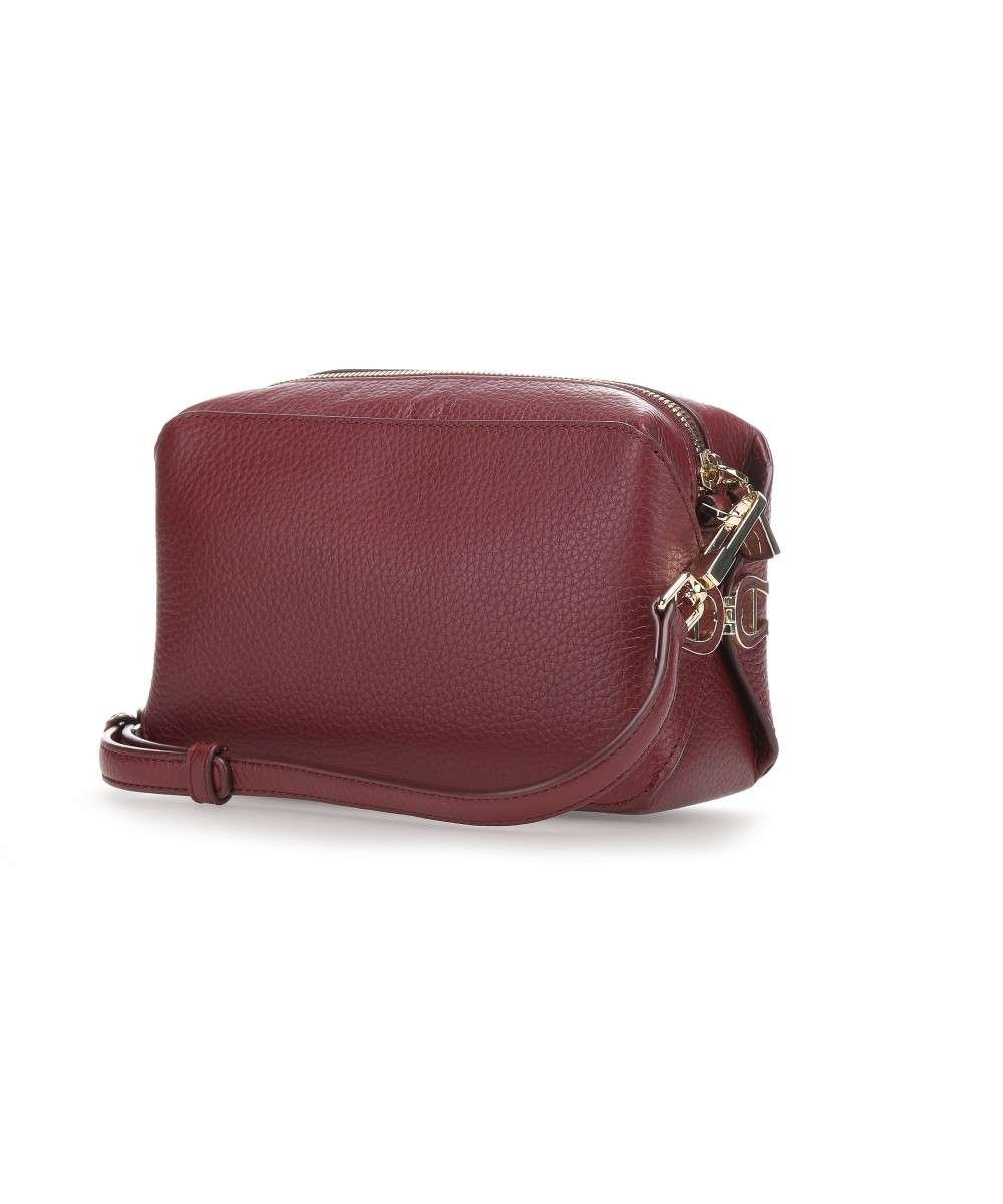 free shipping watch cheap Milano Crossbody bag grained cow leather wine
