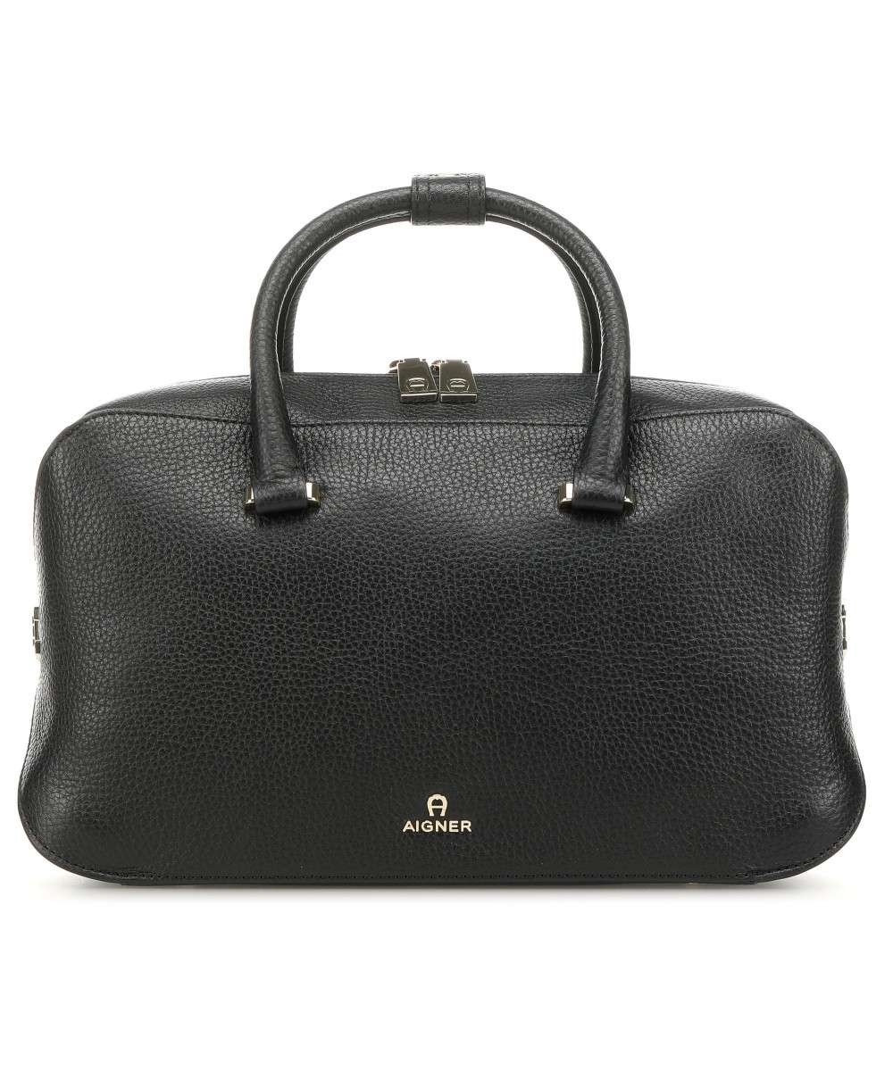 wholesale price popular stores official store Milano Handbag grained cow leather black