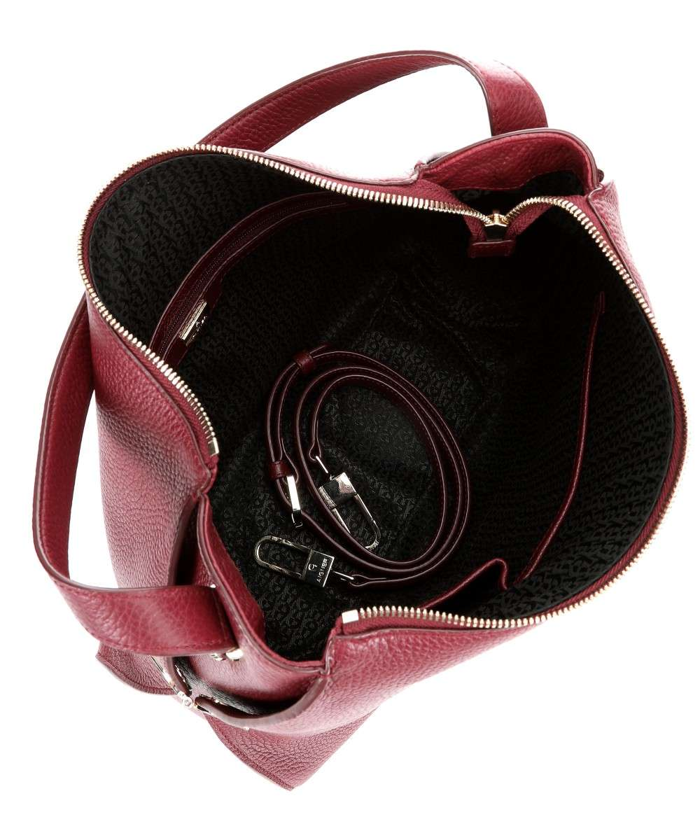 presenting lowest discount buy popular Milano Hobo bag grained cow leather wine