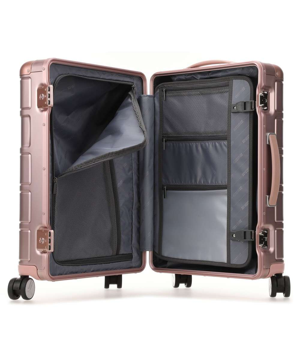American Tourister Alumo 4-Rollen Trolley metallic pink 55 cm-122763-1751-01 Preview