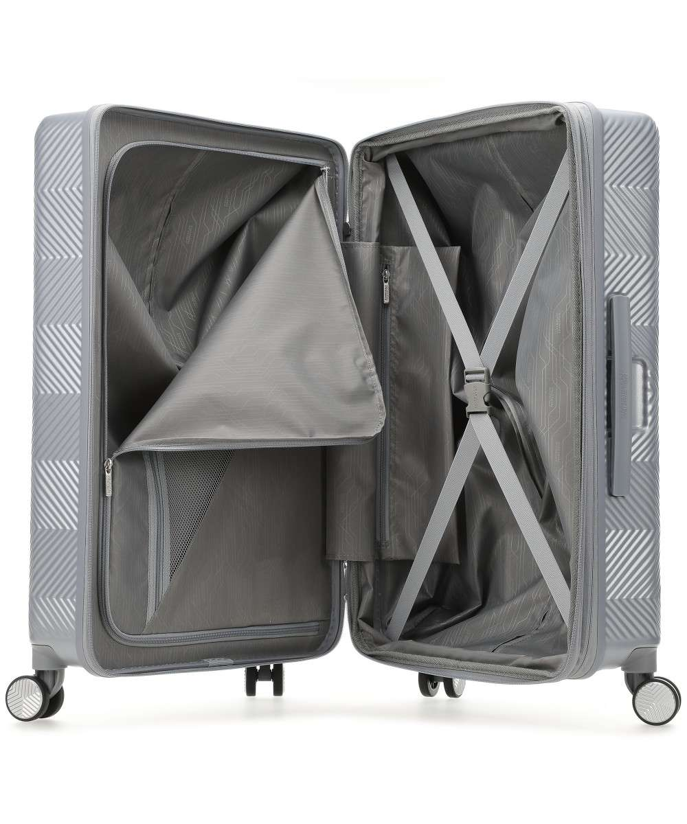 American Tourister Flylife Trolley (4 wielen) zilver 77 cm-125246-6260-01 Preview