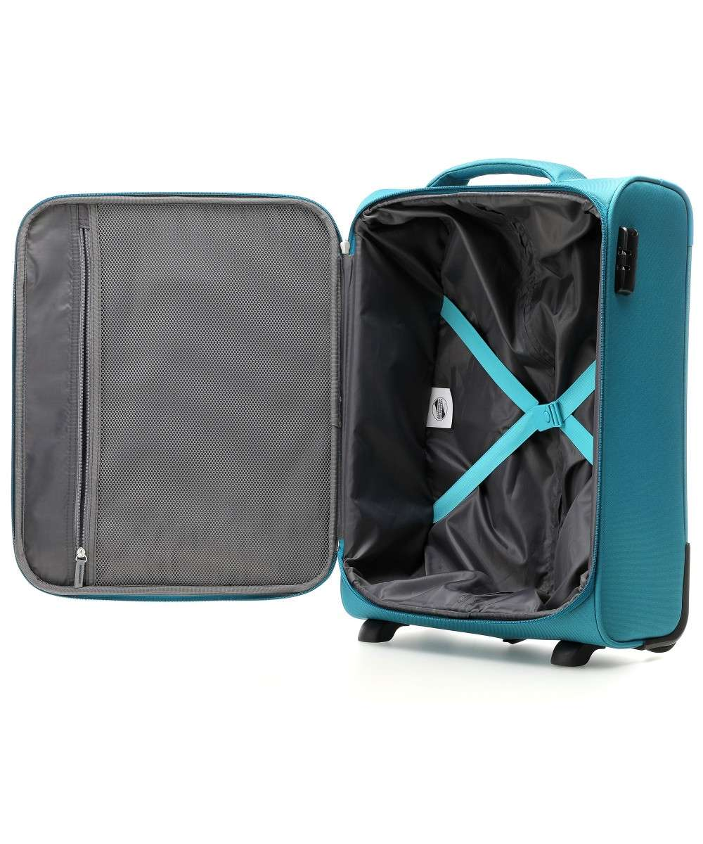 American Tourister Holiday Heat 2-Rollen Trolley petrol 55 cm-106793-2275-01 Preview