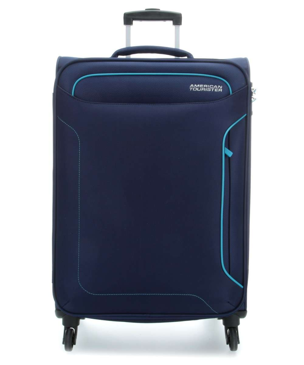 American Tourister Holiday Heat 4-Rollen Trolley navy 79 cm Preview