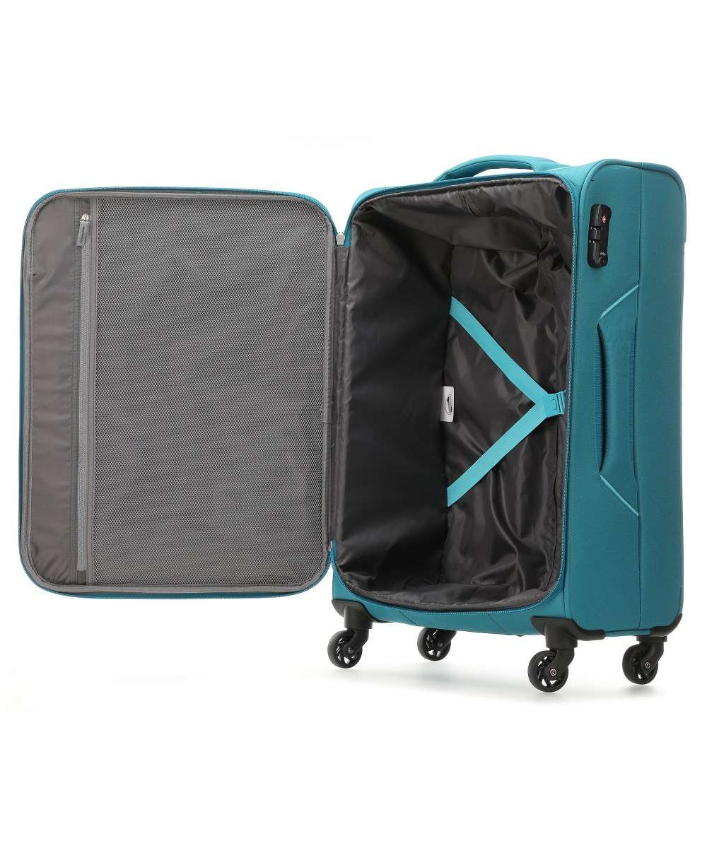 American Tourister Holiday Heat Trolley (4 wielen) petrol 79 cm-106796-2275-01 Preview