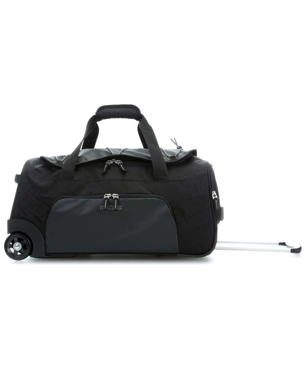 a7accd339 Road Quest Travel bag with wheels black 55 cm