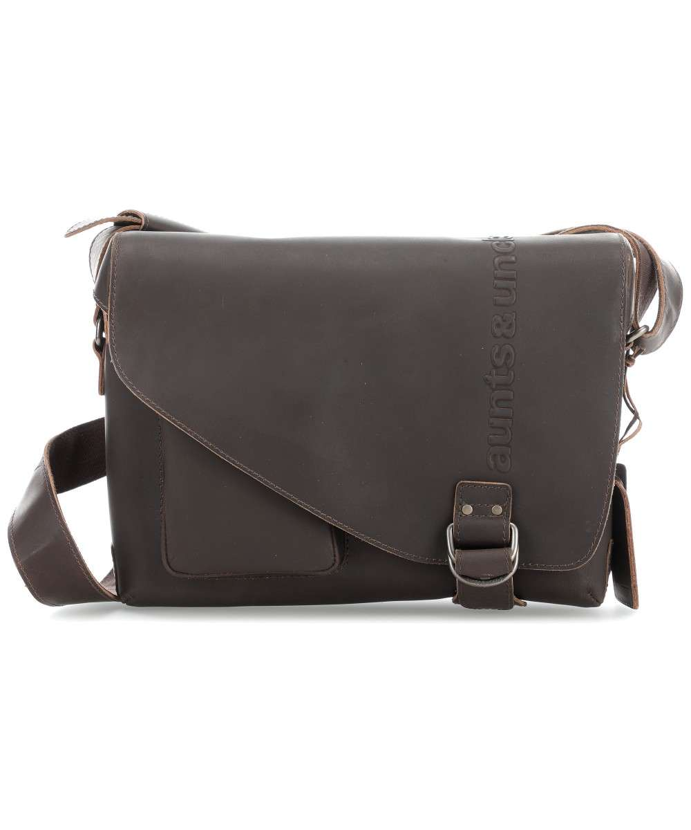 Aunts & Uncles Hunter Judd Kuriertasche dunkelbraun Preview