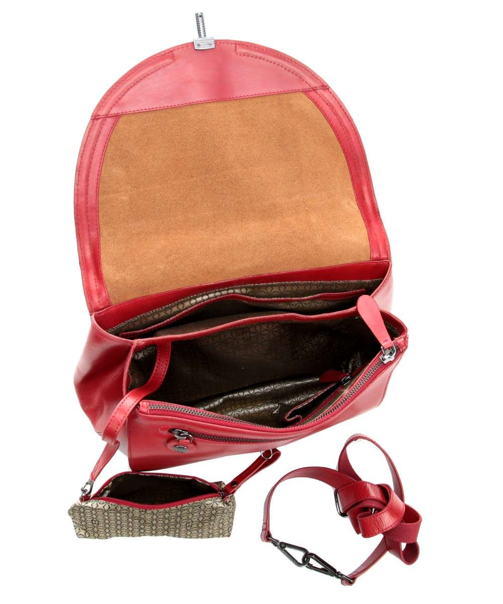 Aunts and Uncles Madame Chic Charlotte Handtasche rot-10507-10-01 Preview