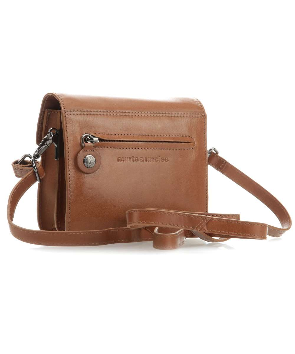 Aunts and Uncles Madame Chic Sophie Schultertasche cognac-10500-2-01 Preview