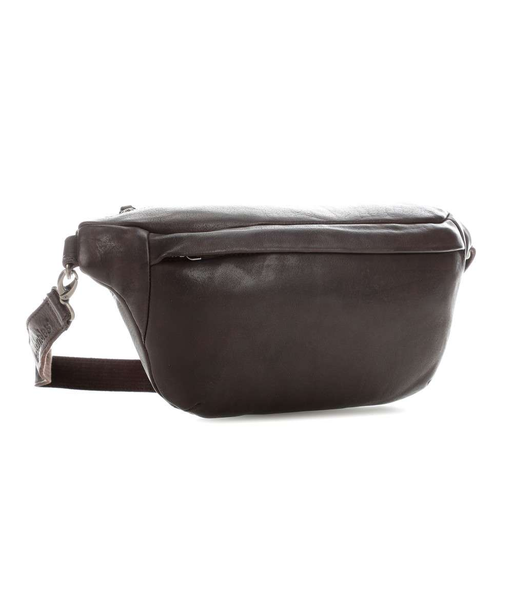 The Barber Shop Old Dutch Fanny pack grained cow leather dark brown