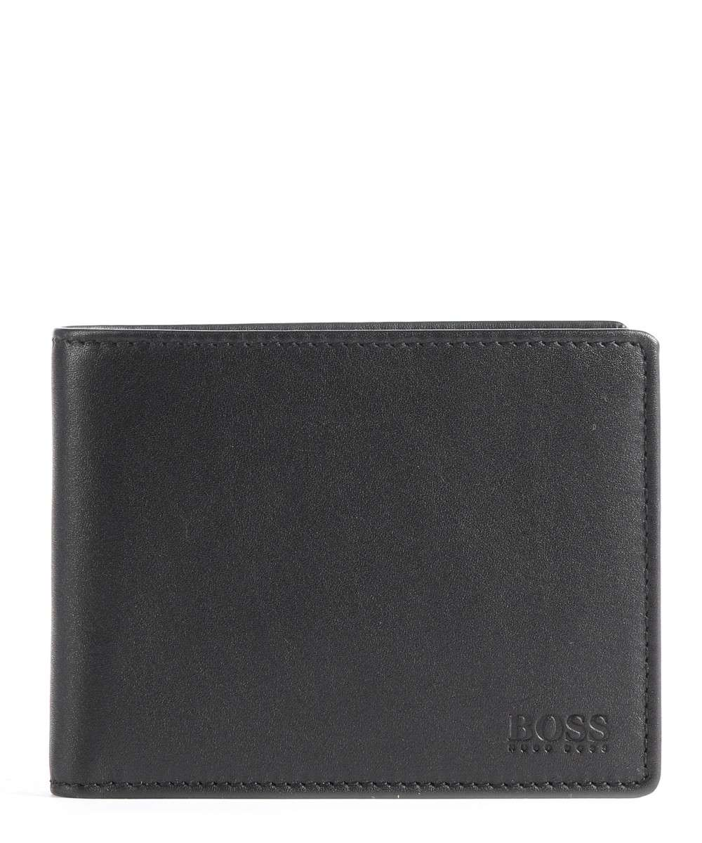 BOSS Leather Small Arezzo Wallet black Preview