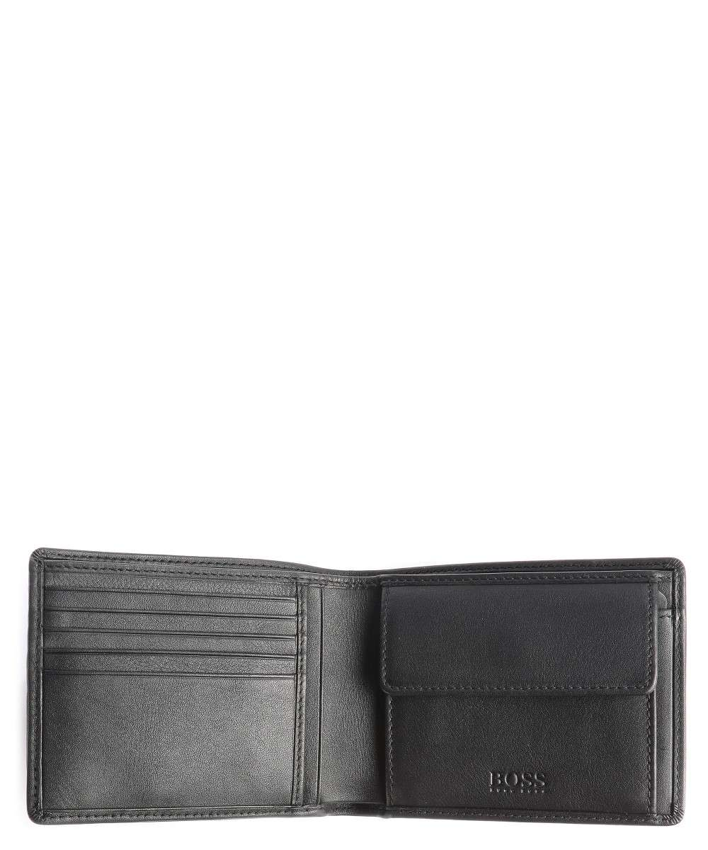 BOSS Leather Small Asolo Wallet black-50250331-001-01 Preview