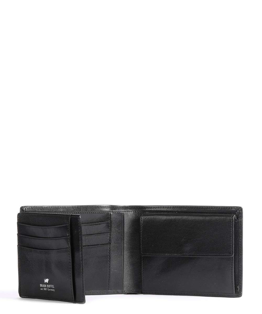 Braun Büffel Basic Monedero negro-BB-33143-004-010-01 Preview