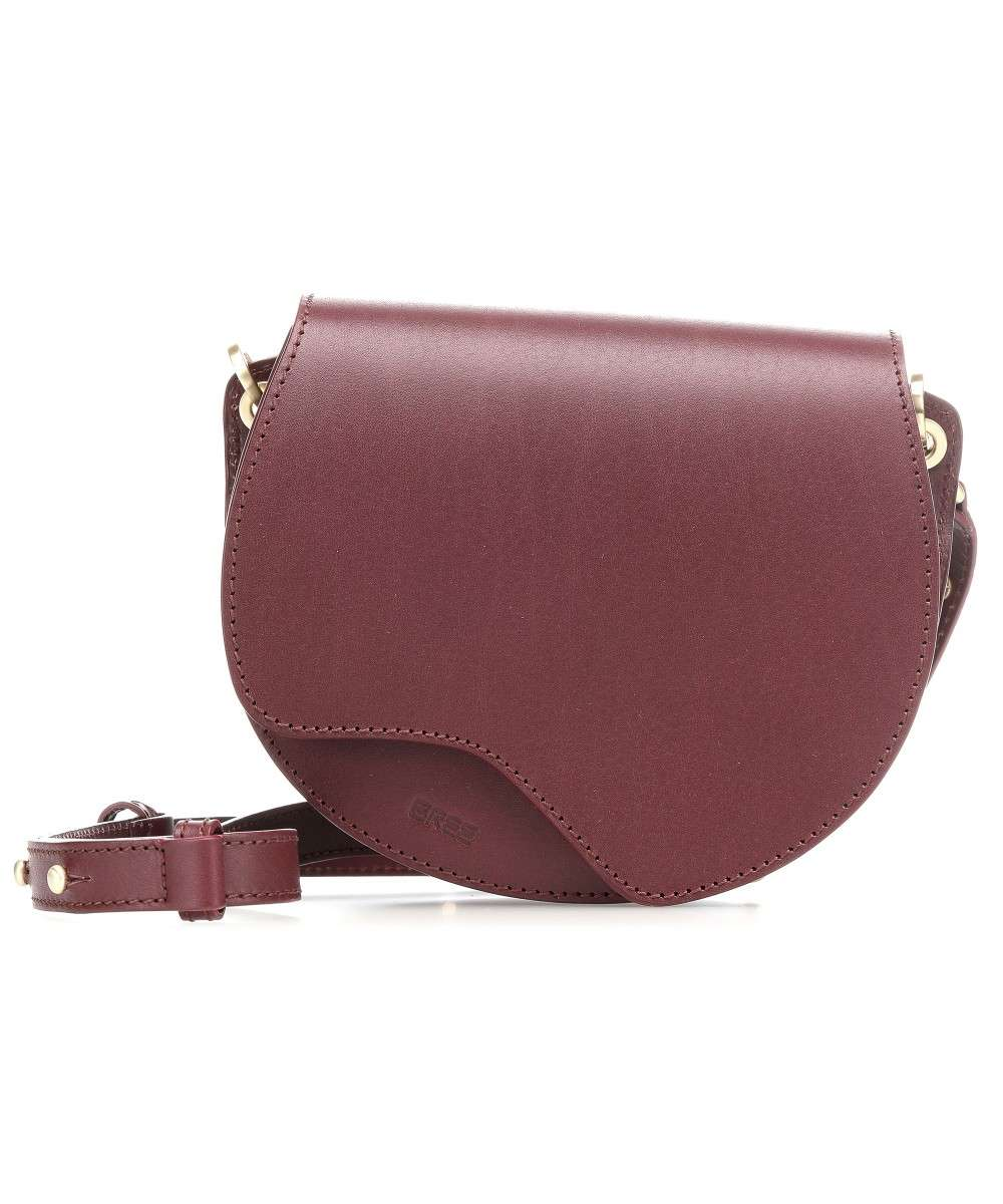 erstklassig 2018 Schuhe exklusive Schuhe Nature Beauty 1 Crossbody bag smooth cow leather wine