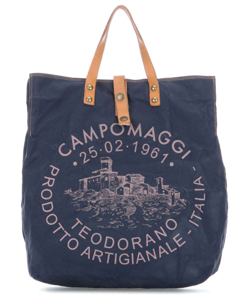Campomaggi Genziana Shopper dunkelblau Preview