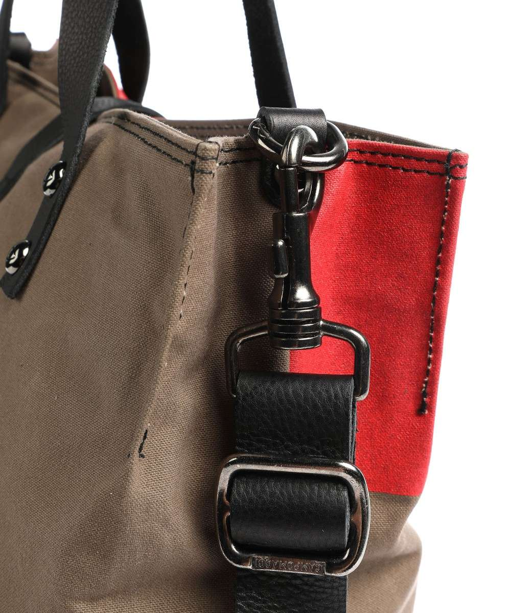 Campomaggi Special Matilde Shopper braun/rot-C001671NDX1533-F2684-01 Preview