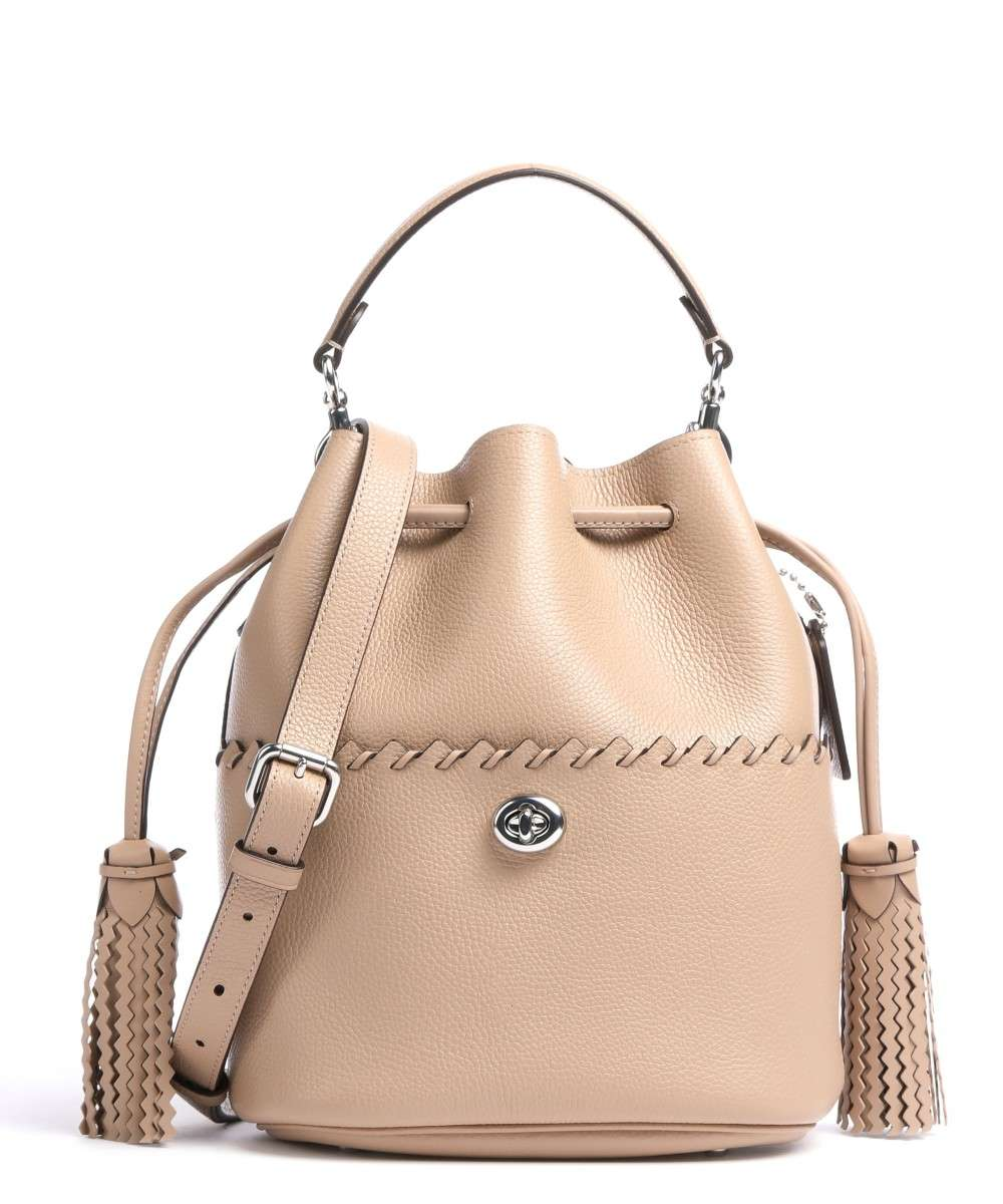 Coach Lora Bucket bag taupe Preview