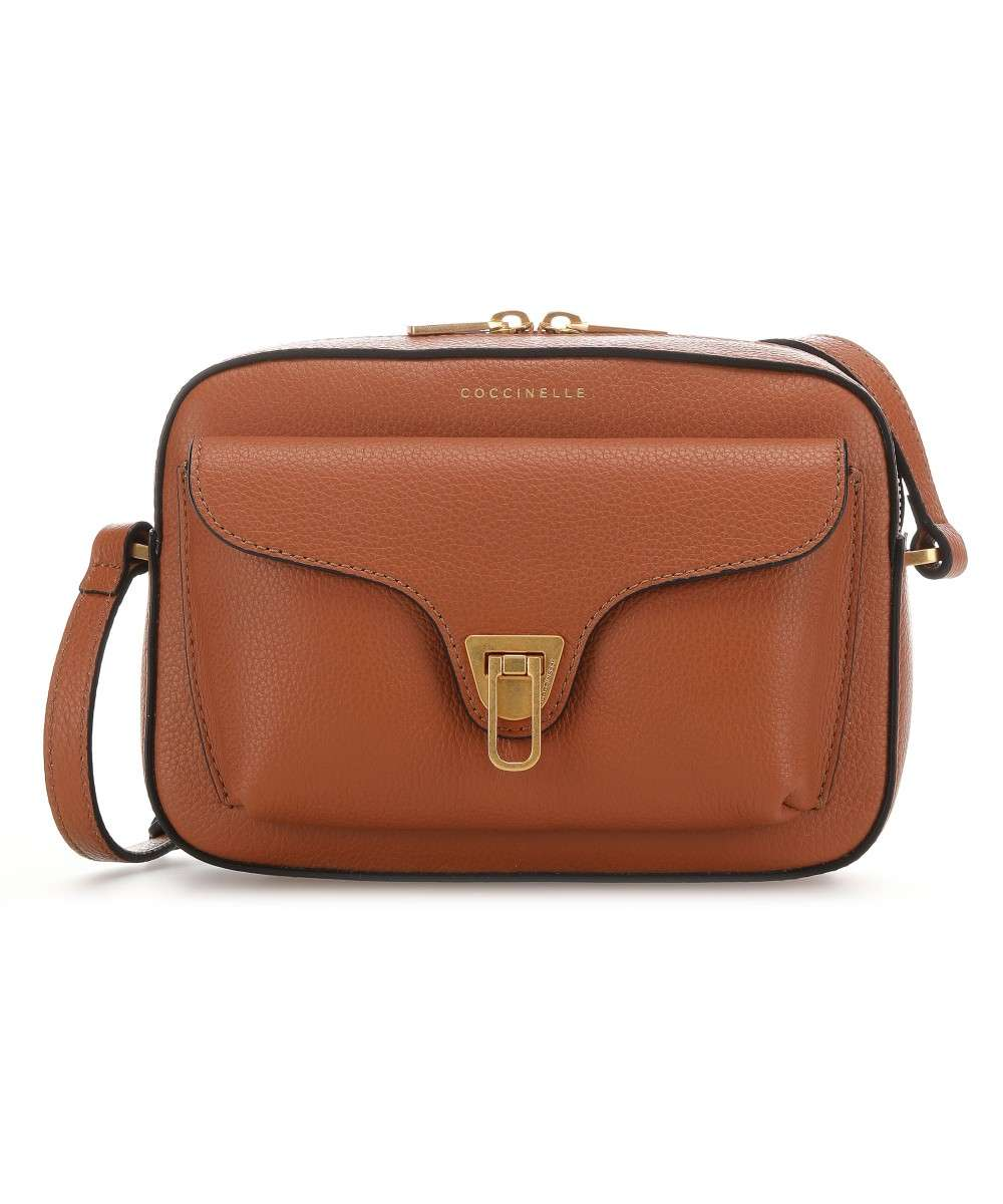 Coccinelle Beat Soft Schultertasche tan Preview