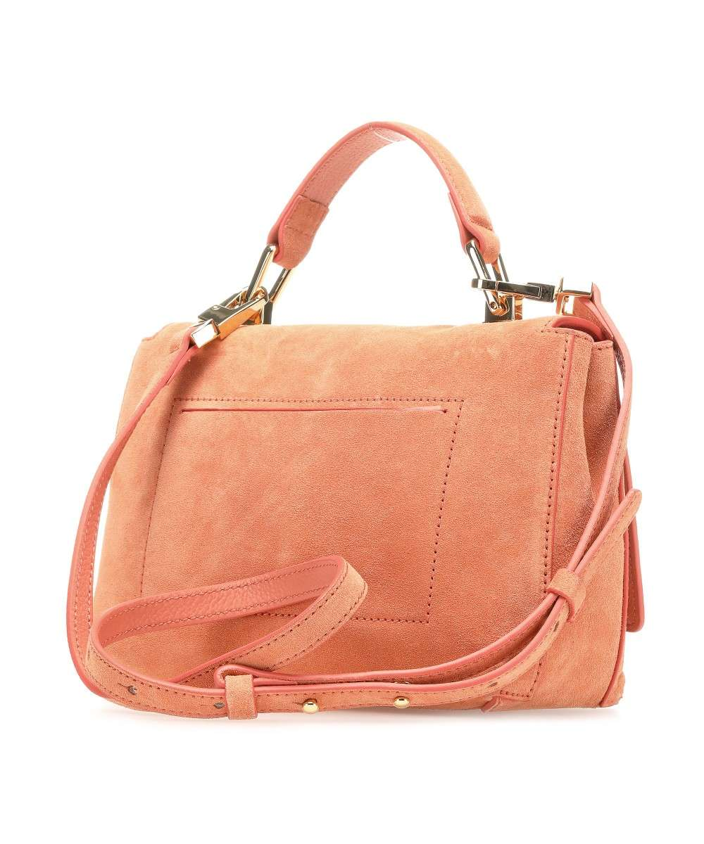 Coccinelle Liya Suede Schultertasche apricot-E1FD1584001-P97-01 Preview