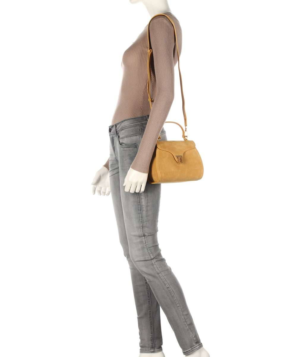 Coccinelle Marvin Suede Schultertasche gelb-E1FAB550101-J03-01 Preview