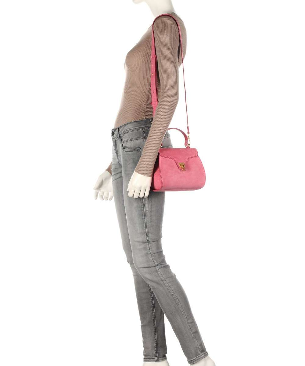 Coccinelle Marvin Suede Schultertasche pink-E1FAB550101-P39-01 Preview