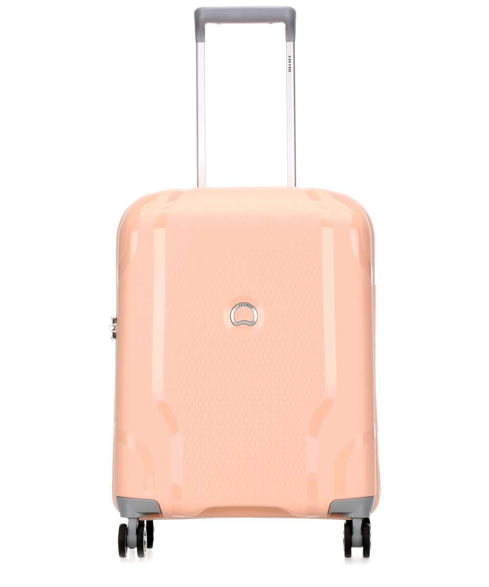 Delsey Clavel 4-Rollen Trolley rosa 55 cm Preview