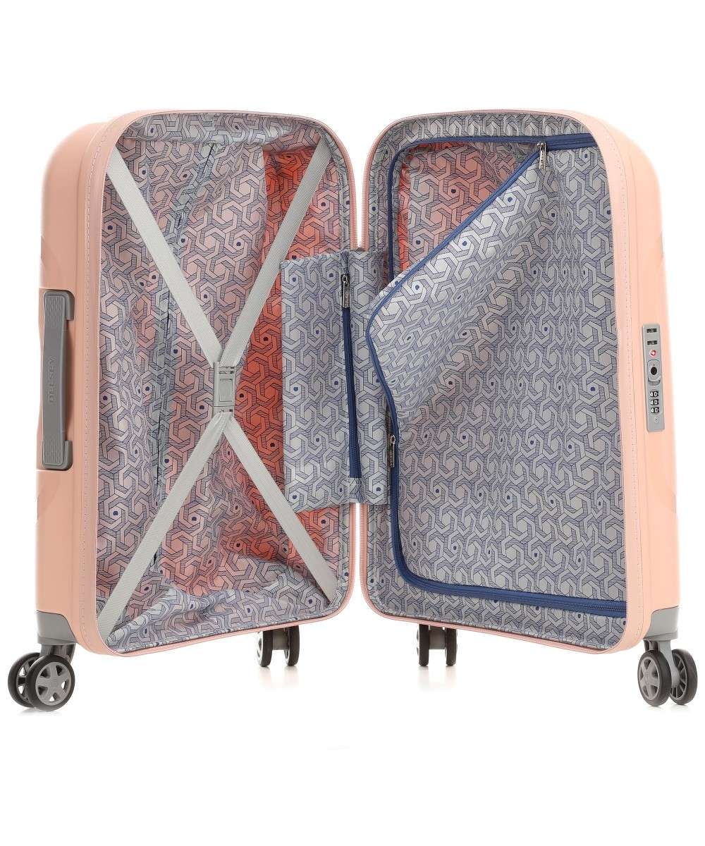 Delsey Clavel 4-Rollen Trolley rosa 55 cm-003845803-09-01 Preview