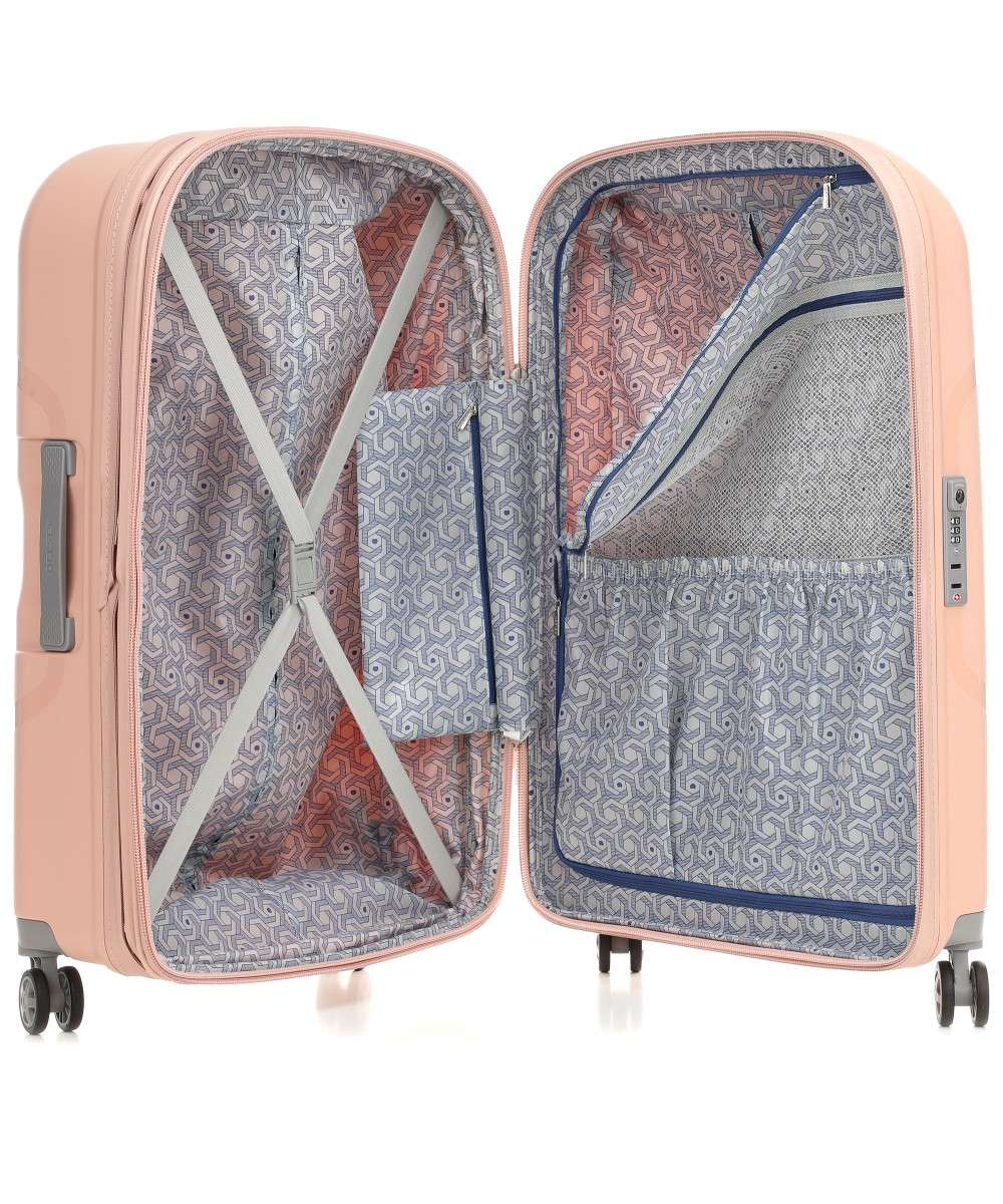 Delsey Clavel 4-Rollen Trolley rosa 70 cm-003845820-09-01 Preview