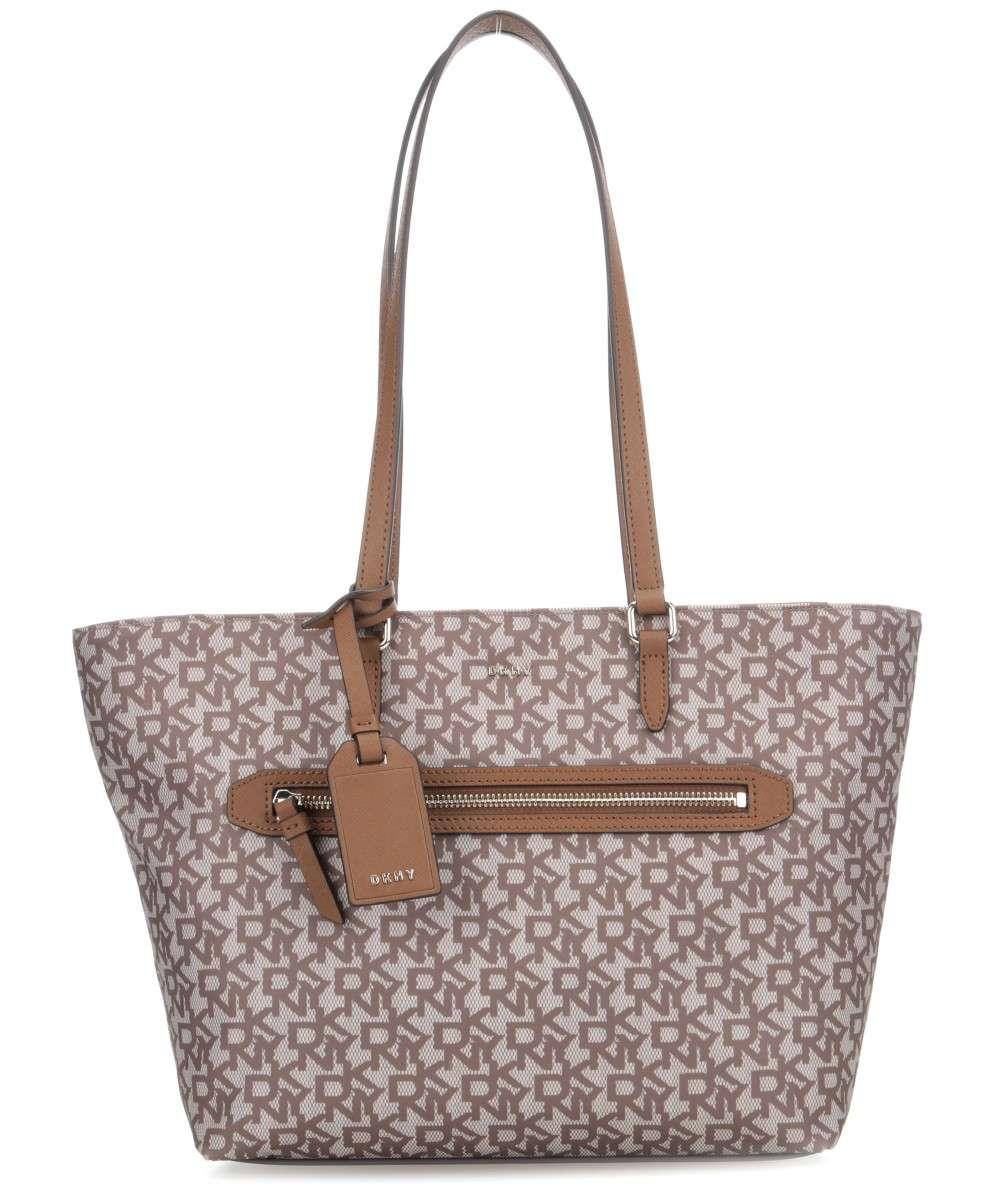 Dkny Casey Tote Bag Polyester Brown