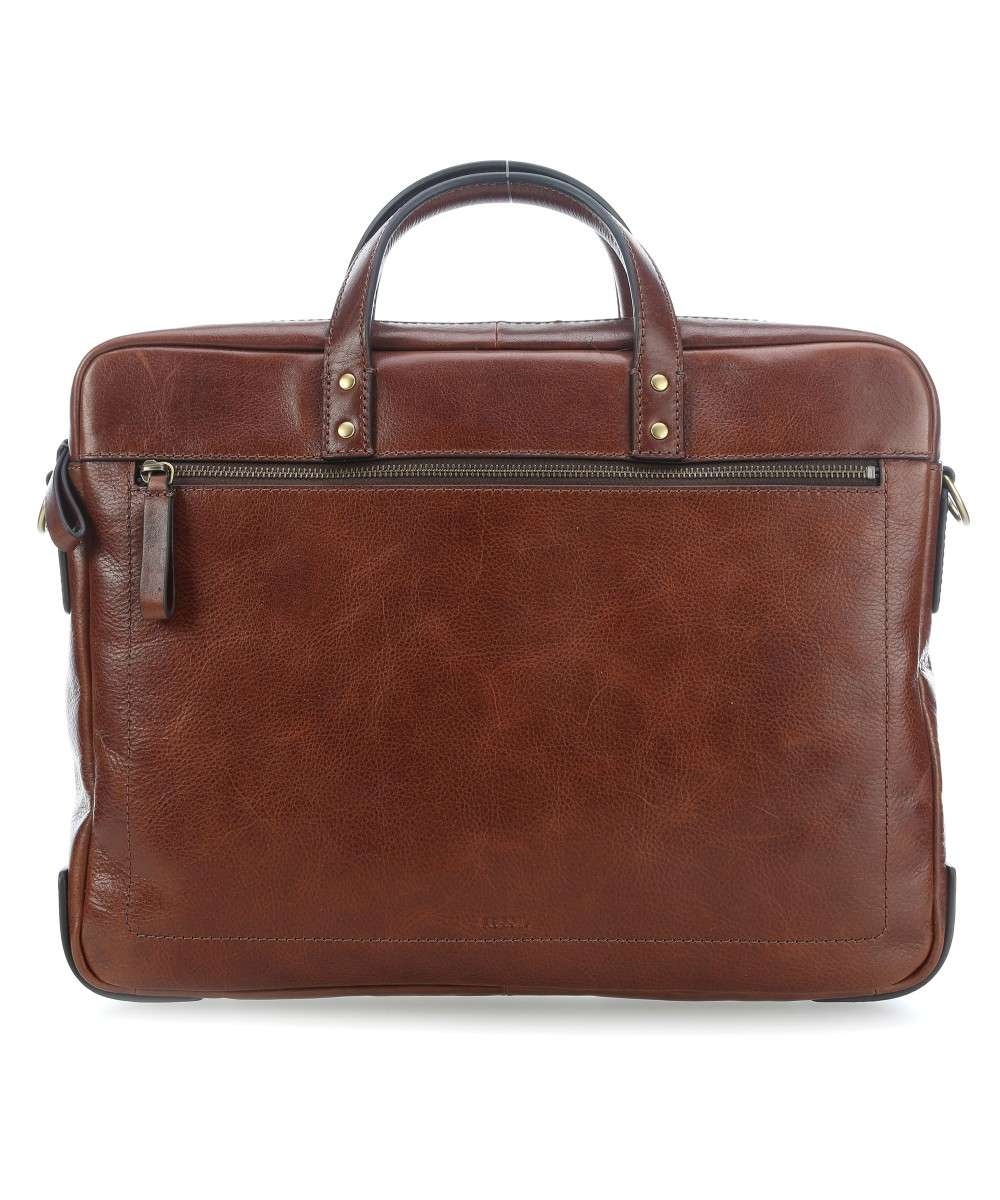 Fossil Aktentasche 15″ cognac Preview