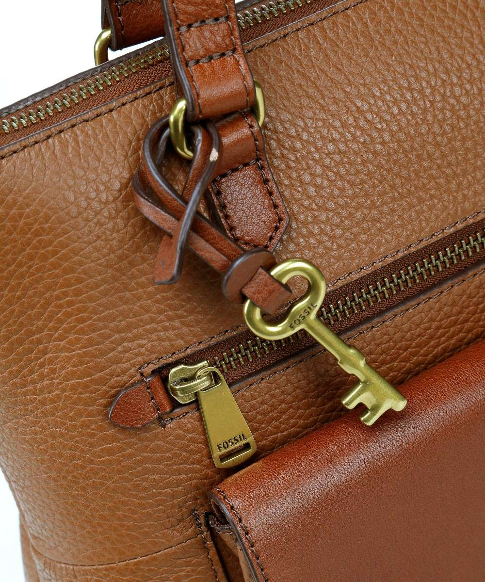 Kinley Tote bag leather brown