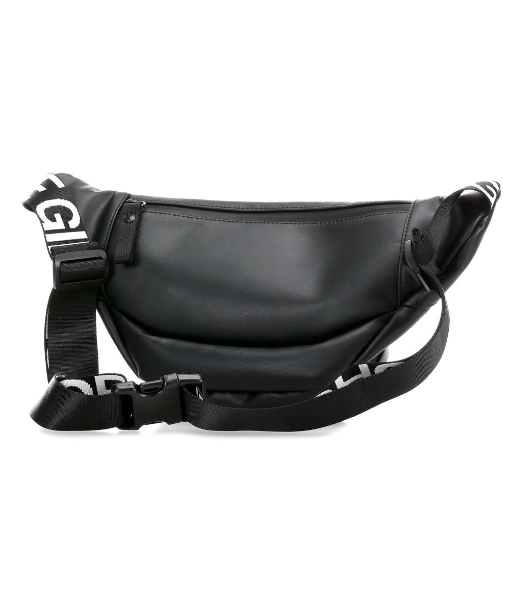 d647c2f8eb3 Leather Belly Bean Fanny pack leather, polyester black