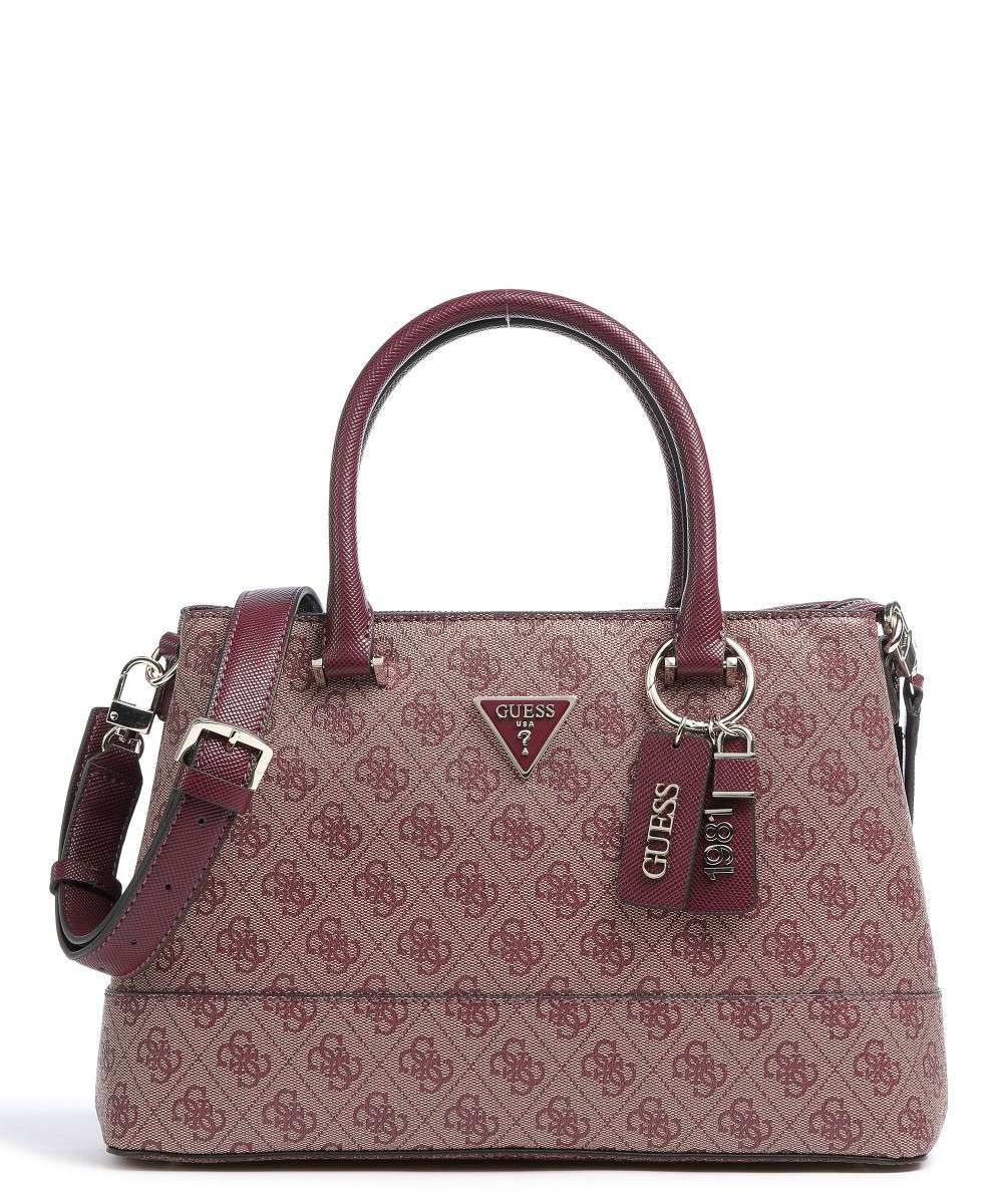 Guess Cordelia Logo Handtasche pflaume Preview