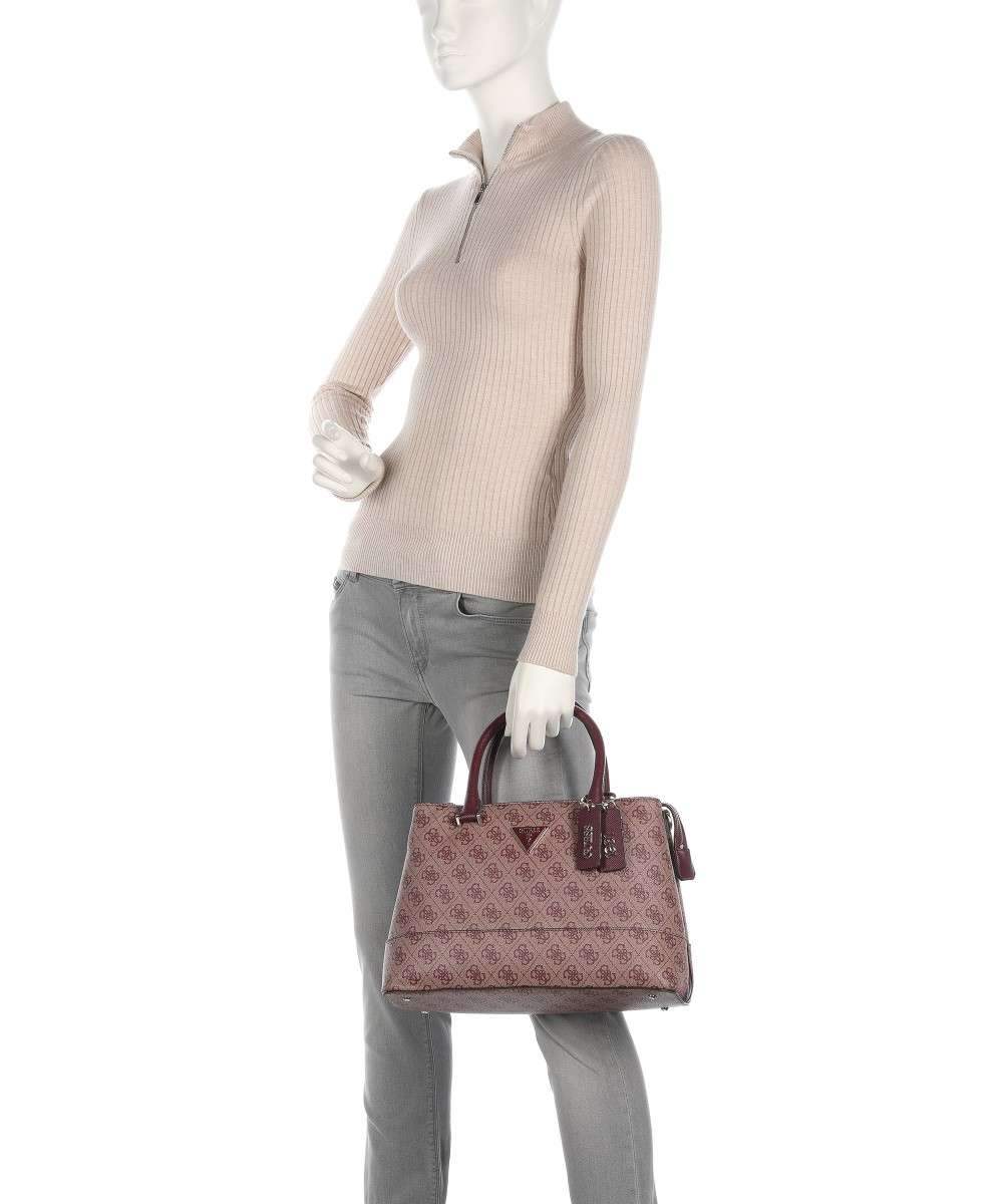 Guess Cordelia Logo Handtasche pflaume-HWBG8377060-PUL-01 Preview
