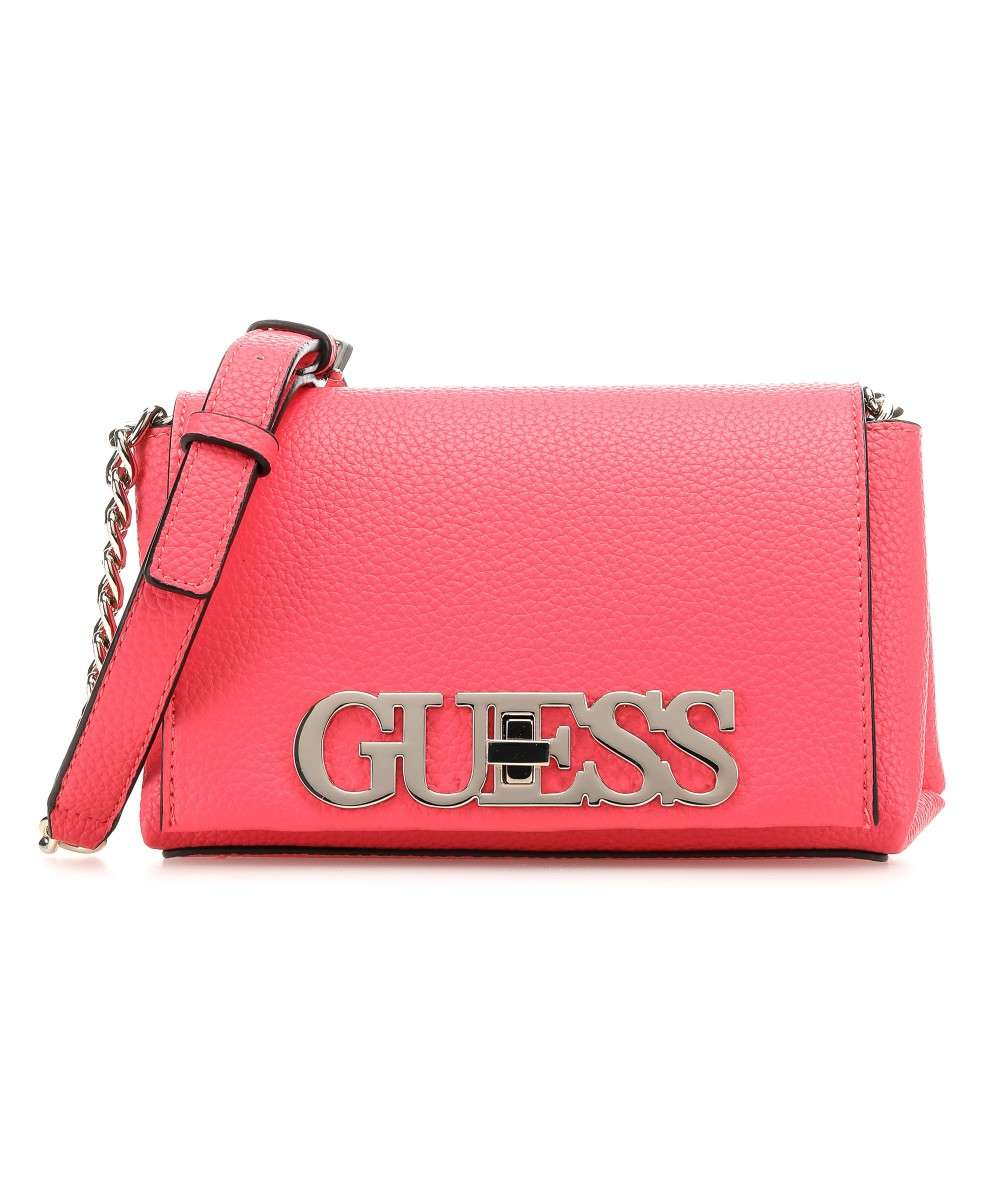 Guess Uptown Chic Schultertasche pink Preview