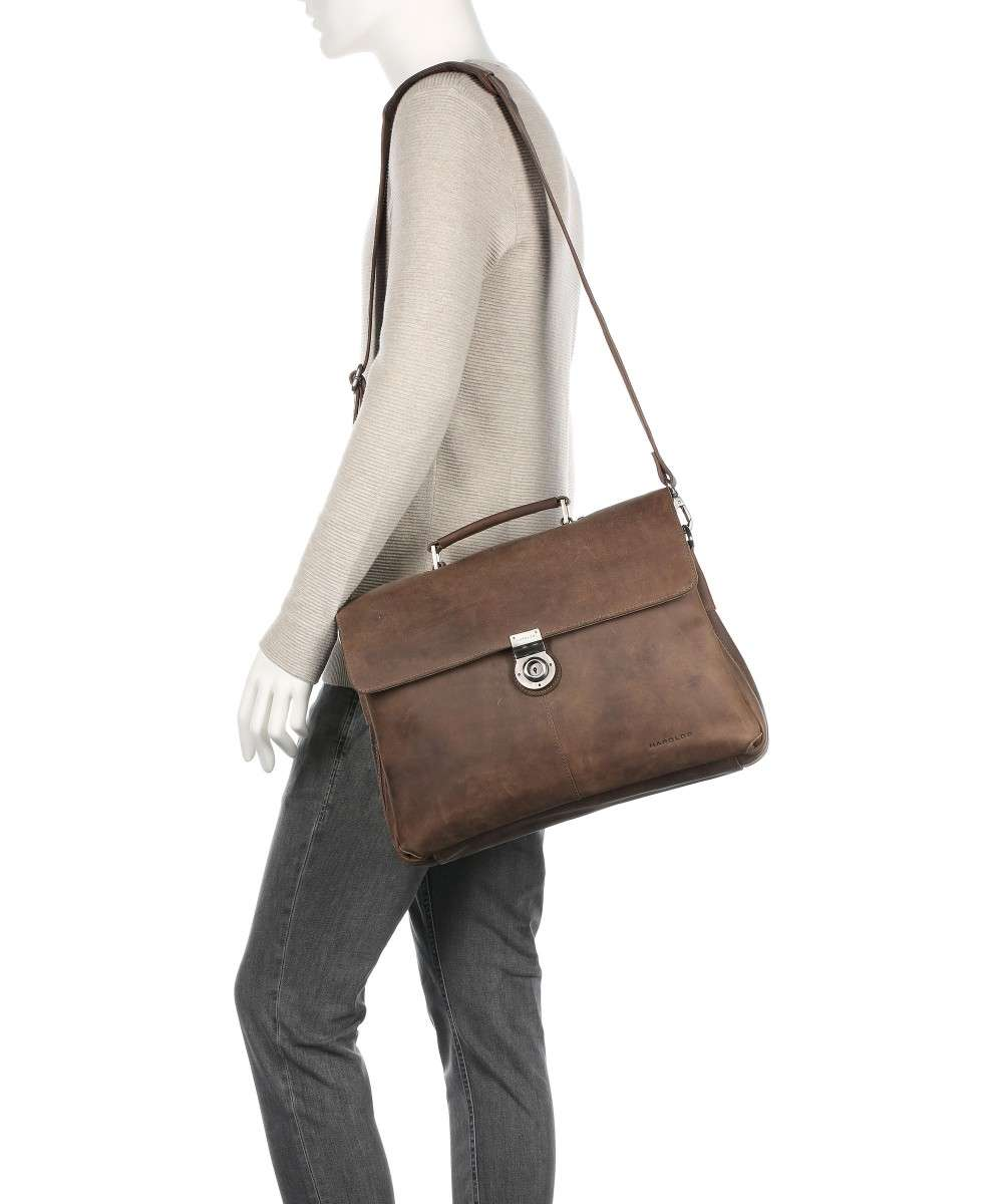 Harolds Antic Aktentasche braun-337303-taupe-01 Preview