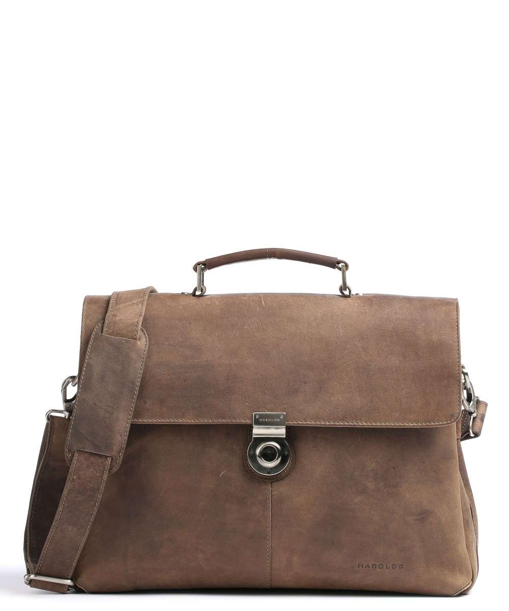 Harold's Antic Briefcase brown Preview