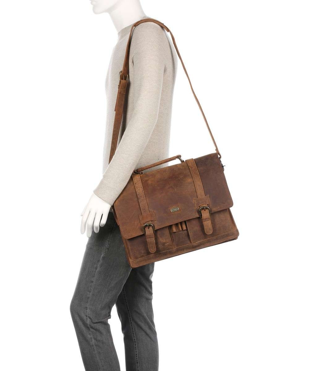 Harolds Antico Briefcase brown-78903-natur-01 Preview