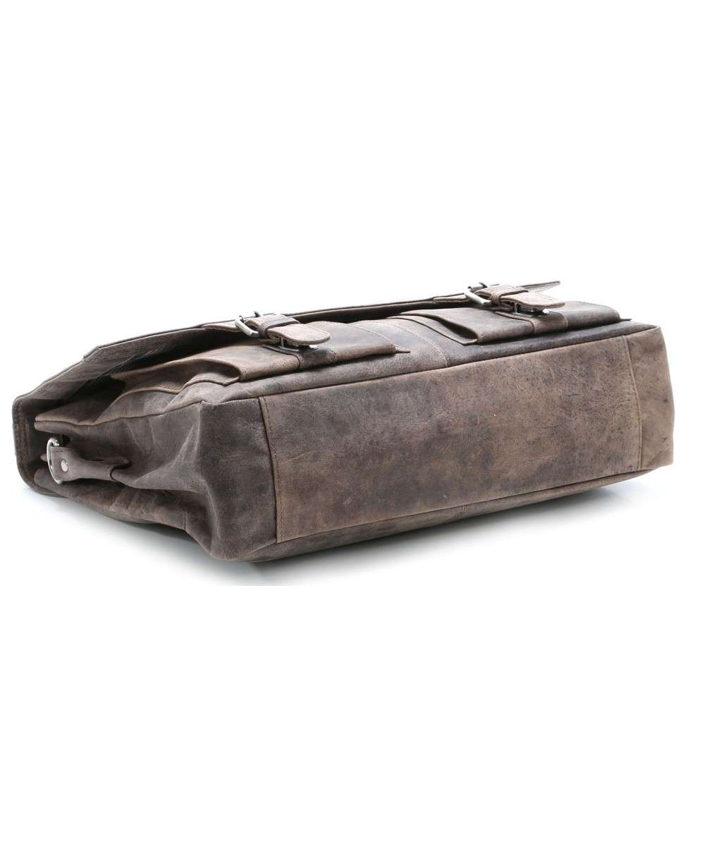 Harolds Antico Briefcase elephant grey-084403-taupe-01 Preview