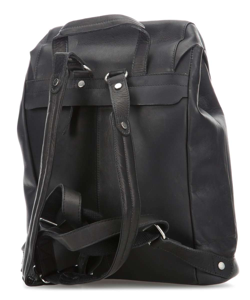 a831704c4e3 Harold's Campo Backpack pull-up cow leather black - 0284535-schwarz ...