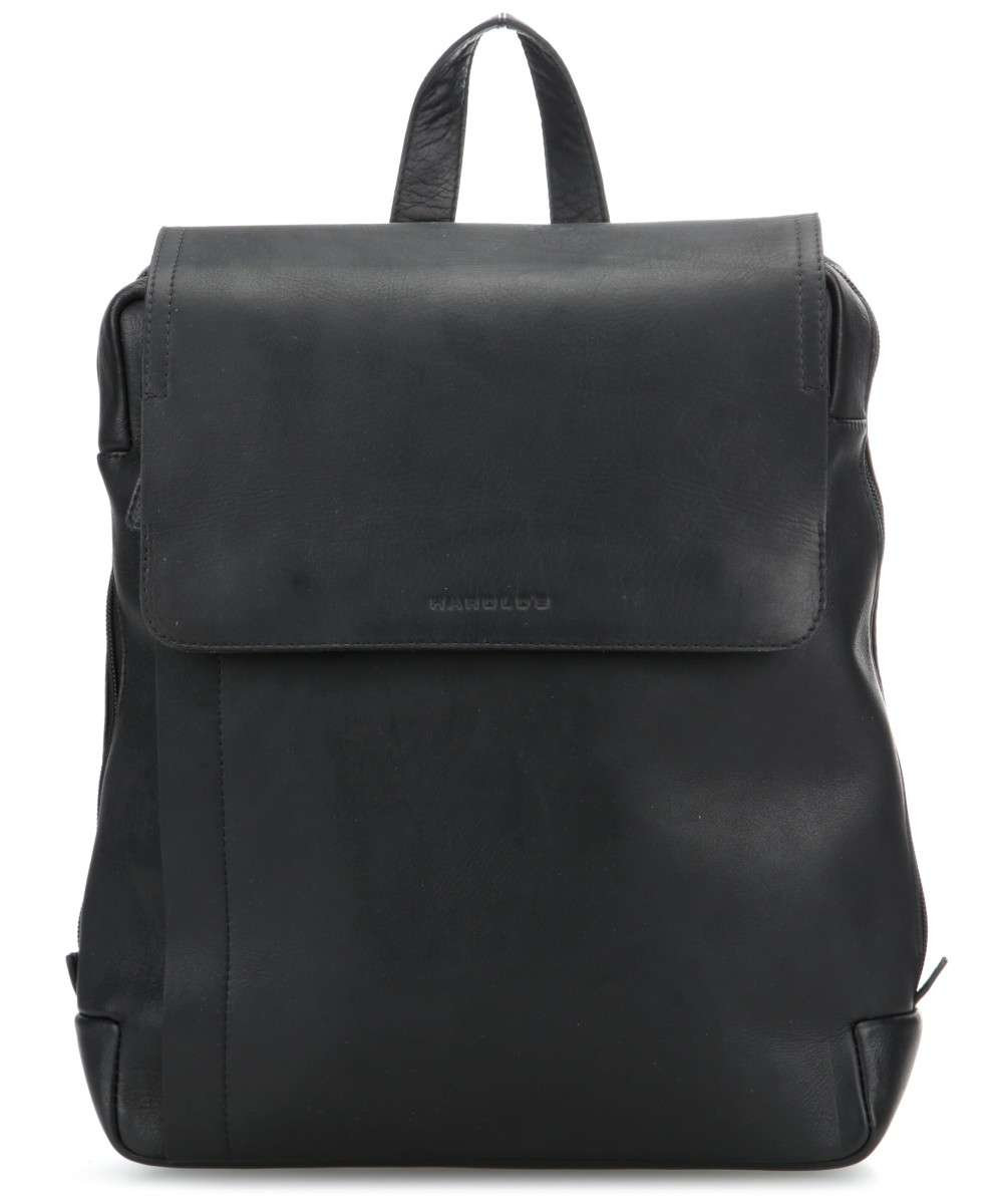 0b807840a55 Harold's Campo Backpack fine grain cow leather black - 0284735 ...