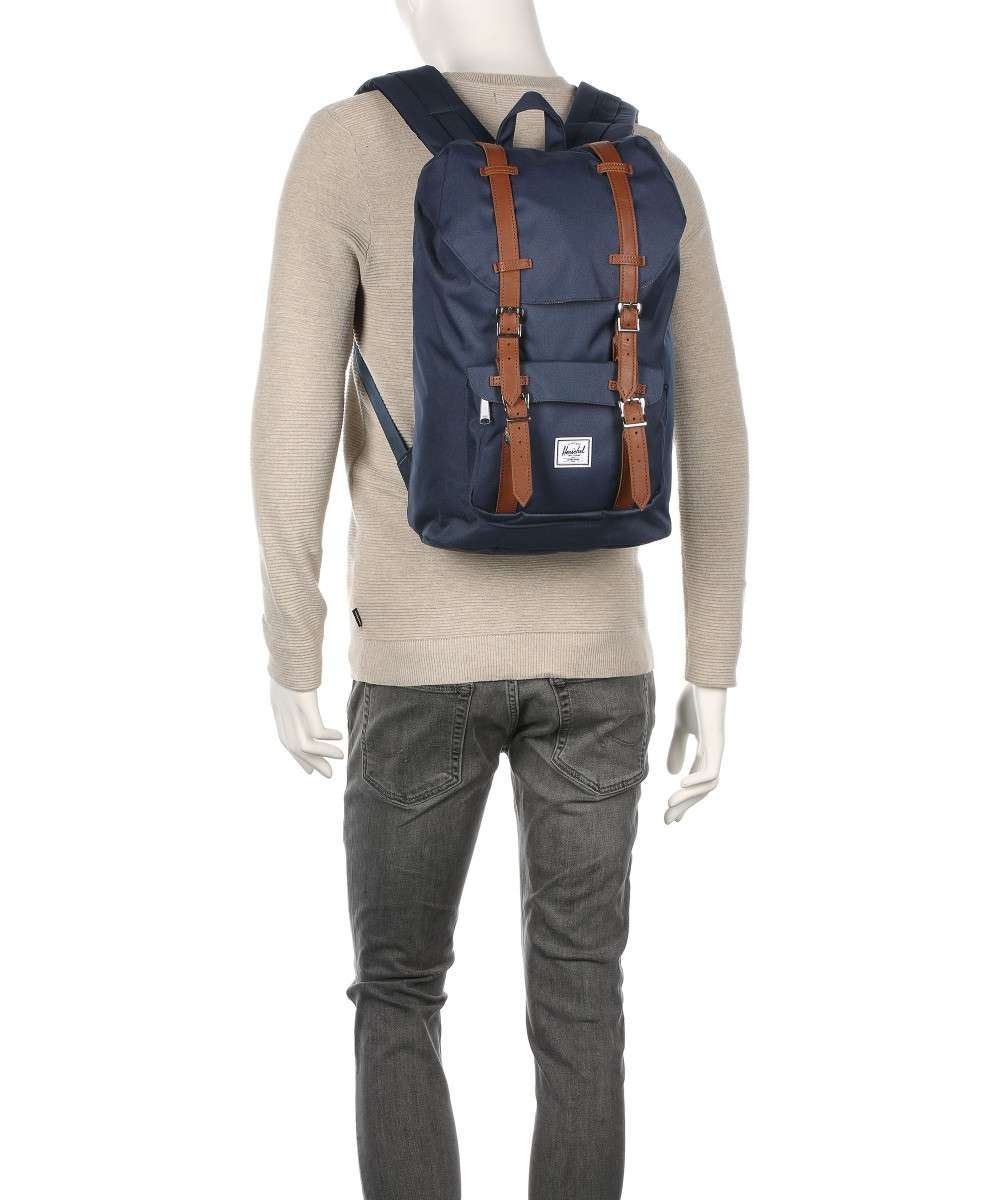 Herschel Classic Little America Mid-Volume Sac à dos gris-10020-00006-01 Preview