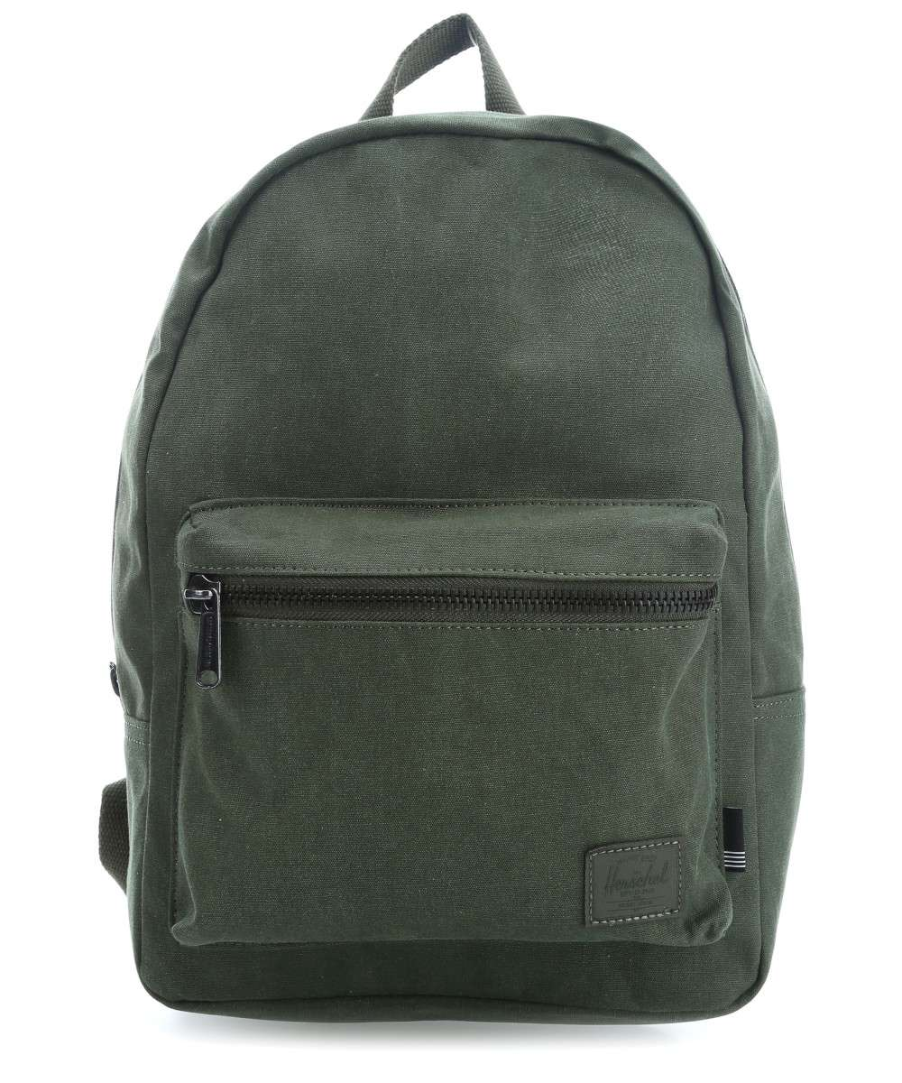 8aad59d24032 Preview. Preview. Herschel Cotton Canvas Grove X-Small Backpack dark green -10261-01561-00