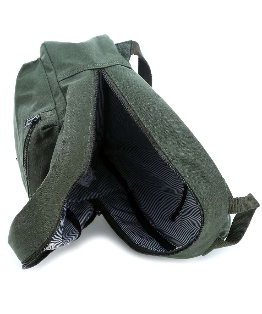 26ad37f2a863 Herschel Cotton Canvas Grove X-Small Backpack dark green-10261-01561-00.  Preview