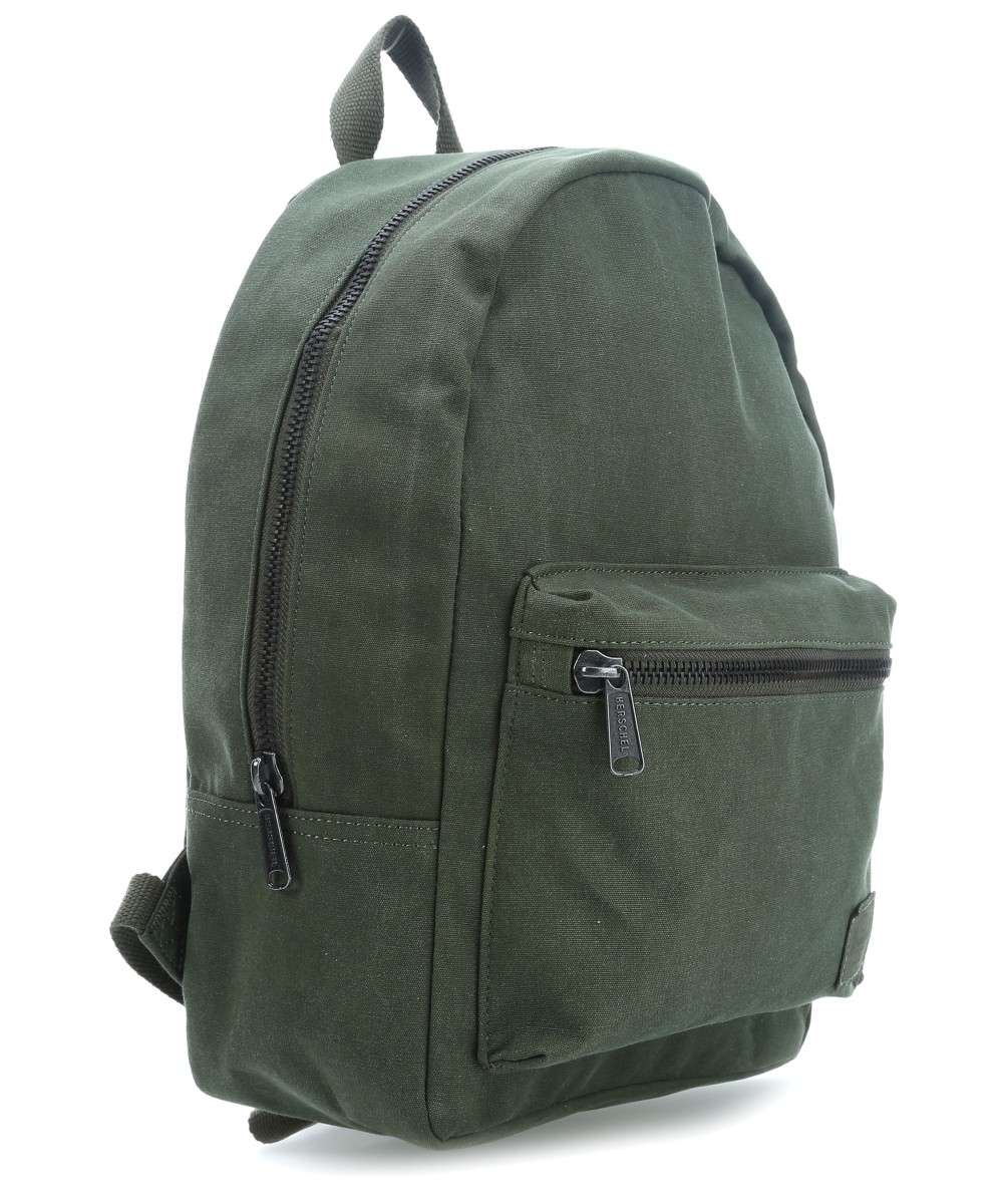 Canvas Zaino Small tela X verde Cotton scuro Herschel Grove S4qxB5PnPw