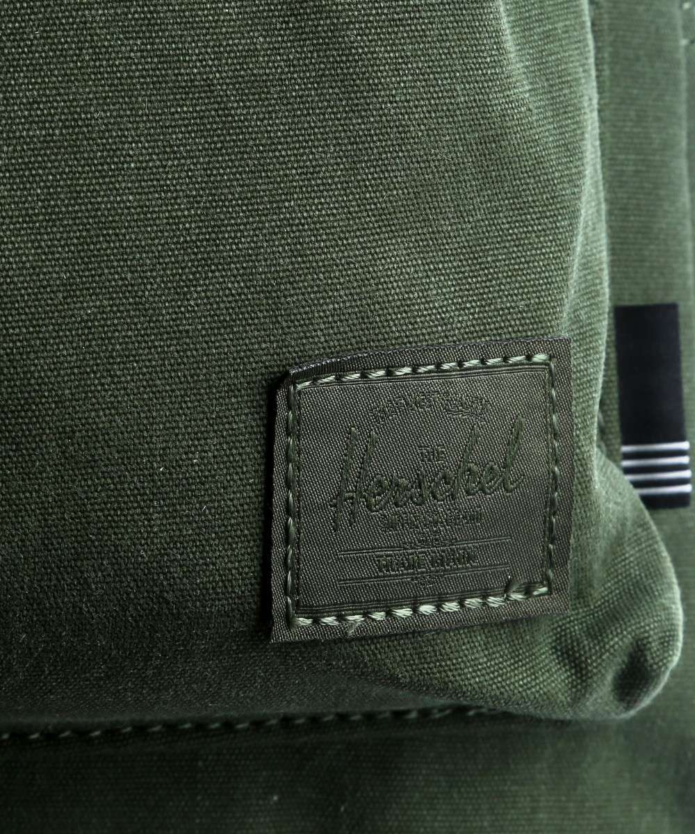 Grove Zaino Herschel verde tela Small scuro Canvas X Cotton qErPwTEX6