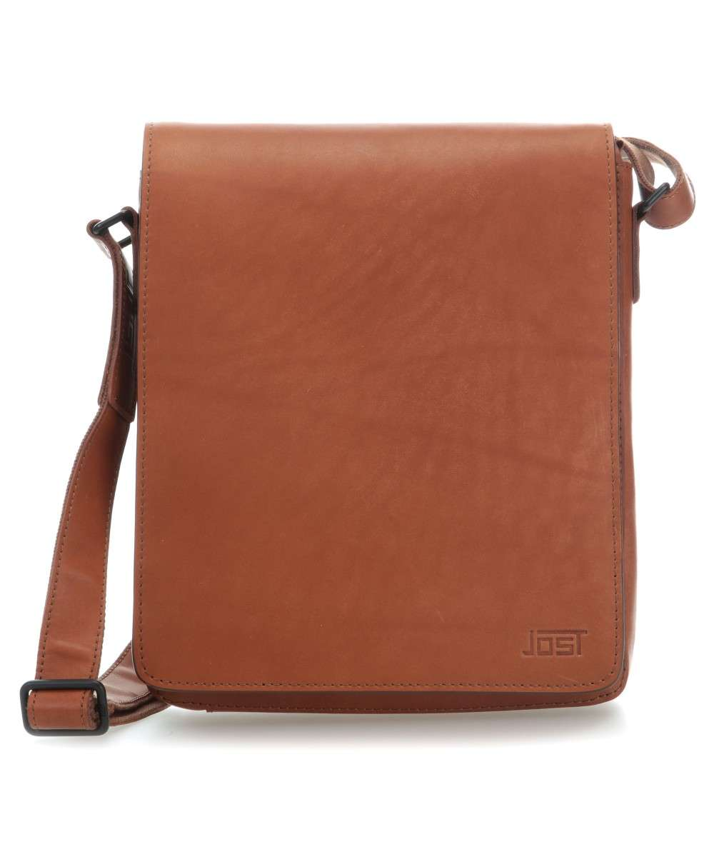 b9c1ace2c2480 Jost Futura S Crossbody bag smooth cow leather cognac - 8643-007 ...
