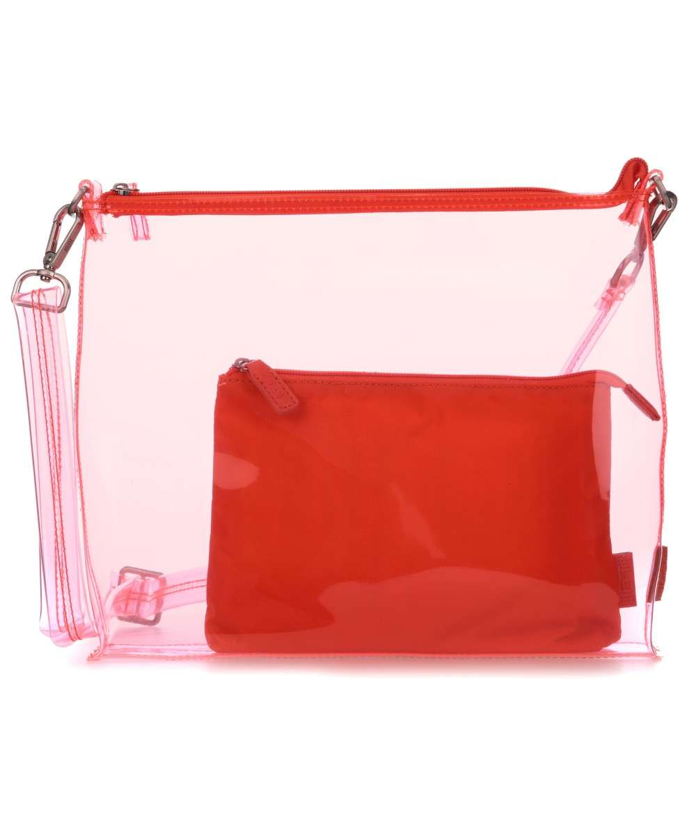 Jost Transparent 2tlg Schultertasche orange Preview