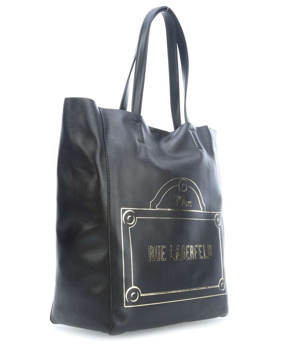 K/Kat Lock Shopper Black Shopper schwarz Karl Lagerfeld X1LQ4y7HOi