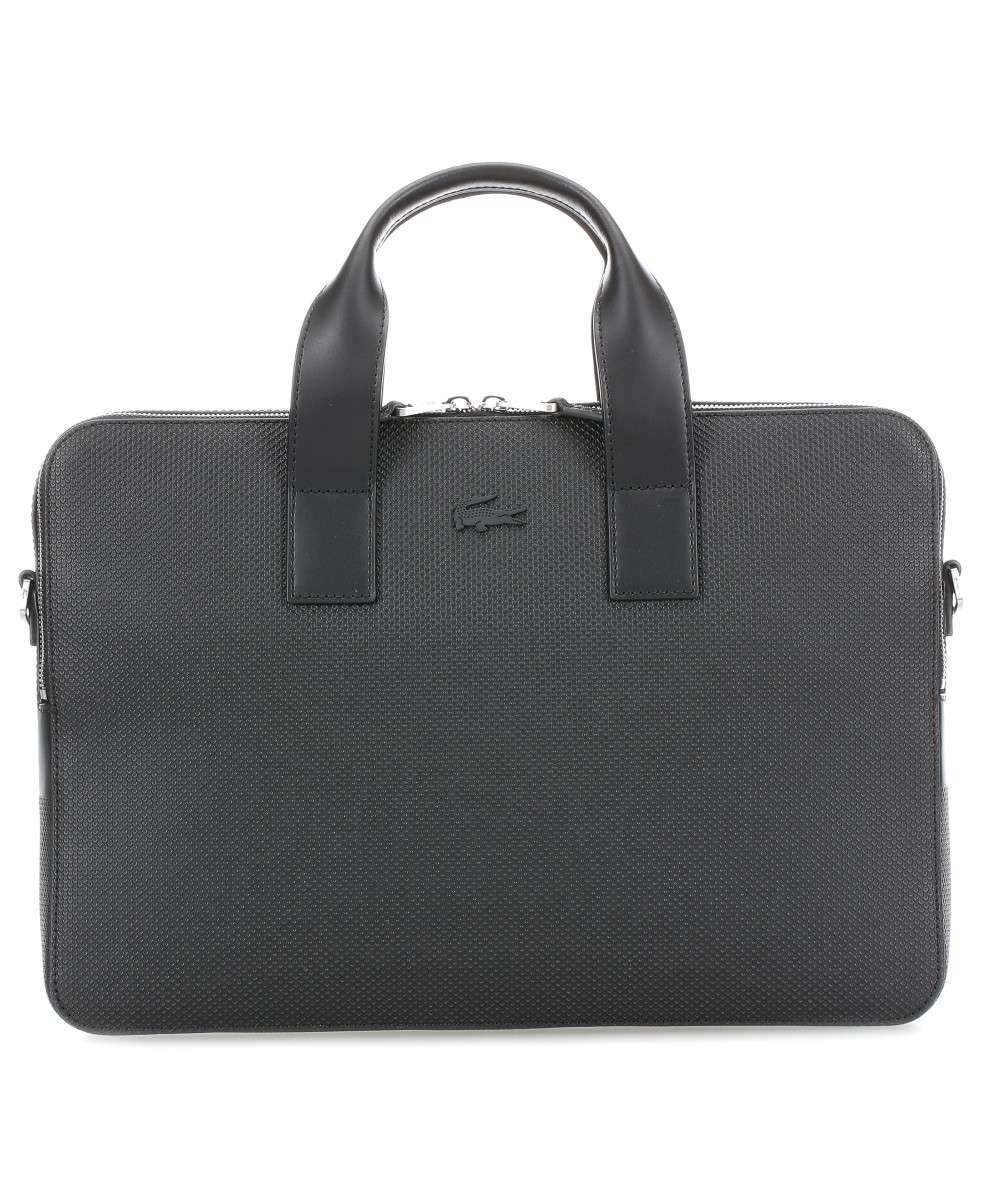 cfd3956997 Chantaco Laptop bag embossed cow leather black