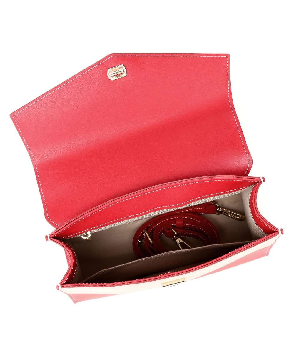 Lancaster City Max Handtasche rot-528-74-ROUGE_POUDR-01 Preview